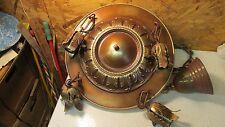 Antique Brass 4 Light Chandelier