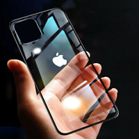For iPhone 11 Pro Max HD Crystal Transparent Slim Light Soft Silicone Case Cover