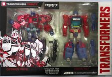 Transformers Takara Tomy TLK-EX Evolution WFC Optimus Prime & Orion Pax MISB.