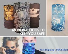 Face Mask Sun Shield Neck Gaiter Balaclava Neckerchief Bandana Headband SPF40