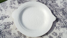 Vintage French Sarreguemines Fish Plate Seafood Shellfish1930-1950 White