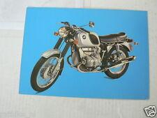 BMW R75/5 750 CC MOTORCYCLE MOTORRAD VINTAGE ORIGINAL POSTCARD