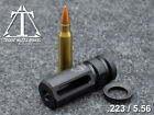 12x28 223 Muzzle Brake With Free Crush Washer. Custom Made In The U.s.a.