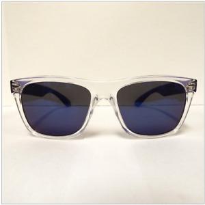 Kenneth Cole Reaction Clear Blue Sunglasses KC1240