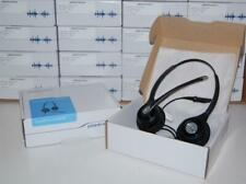 NEW Plantronics HW261N SupraPlus Headset 64339-31 use w M22 & VOiP Voice Over IP
