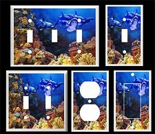 Dolphins Sea Turtles Tropical Fish Coral Reef #5 Light Switch Cover Plate