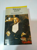 Doctor Faustus Thomas Mann 620 Pages 1990 P&j Castilian - Book - Am