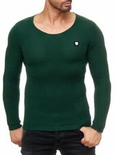 Herren-Pullover mit mittlerer Strickart aus Baumwolle Schlanke-Größen