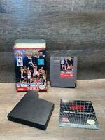 Tecmo NBA Basketball Nintendo NES Video Game With Box No Manual