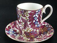 Royal Albert Fine Bone China Demitasse Tea Cup & Saucer ARABESQUE Chintz Set