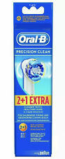 Genuine Braun Oral B Replacement Electric Toothbrush Heads (PRECISION CLEAN)