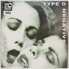 Type O Negative ‎Bloody Kisses Green Black Swirl Color vinyl record 2xLP OOP New