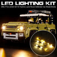 ONLY LED Light Lighting Kit For LEGO 42110 Technic Land Rover Defender Car