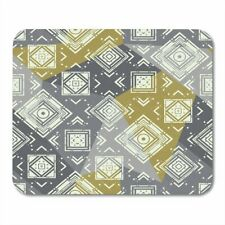 Mouse Pad Artistic Retro Geometric Lovely PC Computer Table Non slip Mouse Mats