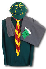 COMPLETO adulto WOLF CUB Scout uniforme-Pantaloncini Jersey Calze Reggicalze NECKER Cap