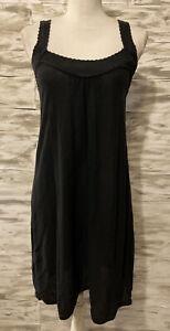 Comptoir Des Cottoniers Casual Black Cotton Dress Size Small