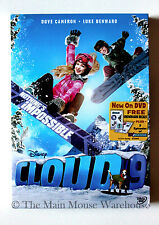 Disney Channel Snowboarding Movie DVD Could 9 Cloud Nine & 3 Liv Maddie Episodes