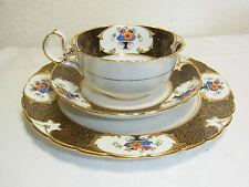 Sammelgedeck,Kaffeegedeck,Reliefbemalung,Tuscan Made in England