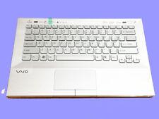 NEW Sony PCG-41216L PCG-41217L PCG-41218L keyboard US Palmrest backlit  silver