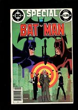 BATMAN SPECIAL 1 (5.5) NEWSSTAND 1ST APP WRAITH DC (B036)
