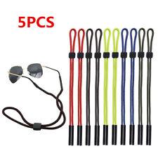 5pcs Adjustable Floating Foam Eyewear Retainer Safety Rope Neck Strap Sport Belt