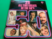 """20 All Time Greats Of The 50's 12"""" Vinyl Album"""