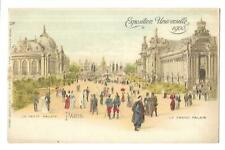 Exposition Universelle 1900. Paris. Early Undivided Back. Raphael Tuck. (5).