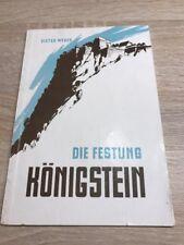Die Festung Königstein, Dieter Weber, VEB 1960