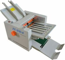 New 110v Adjustable Auto Electric Paper Folding Machine For Manuals Letters