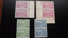 USA 1940 CINDERELLA OLYMPIC COMMITTEE HELSINKI-ST MORITZ  2 FULL SETS MNH