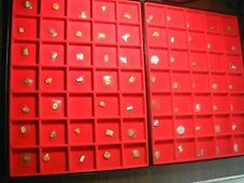 New~70 pcs Mix Brand ~ Glass Watch crystal Lot ~Look Photo F Shape & size  #NC 1