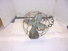 small vintage electric fan wire cage needs work #1