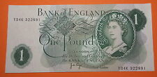 GB : BANK OF ENGLAND ONE POUND PAGE.. FREE SHIPPING