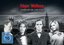 EDGAR WALLACE GESAMTEDITION (1959-1972)  33 DVD NEU