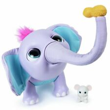 Wildluvs Juno Interactive My Baby Elephant With Moving Trunk