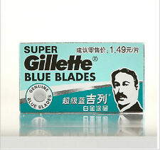Stainless steel two-sided blades 10pcs/2*box Manual razor blades Old super blue