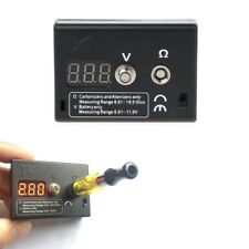 Resistance Tester OHM Meter for RDA RBA Vape Tools Voltage Tester for Battery