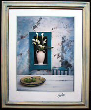 2w`Cebo framed print titled 'The dining room'.