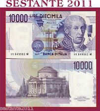 ITALY  ITALIA  10.000 10000 LIRE VOLTA LETTERA K , 19.8. 1998  P 112d, FDS / UNC