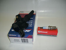 98-2011 TOWN CAR MARQUIS CROWN VIC 1 AC DELCO COIL & 1 MOTORCRAFT PLUGS SP493