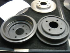 FOR FORD ESCORT RS TURBO SERIES 1 REAR BRAKE DRUMS PAIR 203MM