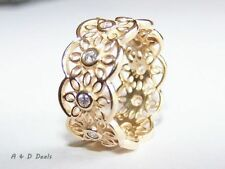 Diamond Yellow Gold Plated Jewellery Charms by Pandora