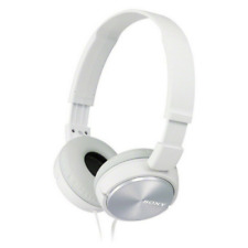 Sony pieghevole Su Cuffie Auricolari-Bianco-MDR-ZX310AP
