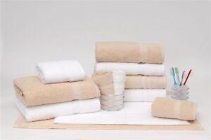 5 Dozen White Dependability Bath Towels  by 1888 Mill