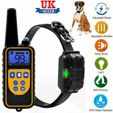 PRO Dog Obedience Training Collar - Modes: Static shock, Vibration, Beep, Light