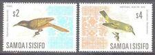 Samoa 1967 Bird Definitive set Sc# 265-74B NH