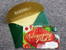 Starbucks Philippines MALIGAYANG PASKO Card 2017 - NEW RELEASE