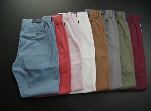 POLO RALPH LAUREN Men's Stretch Straight Fit Chino Pants NEW NWT