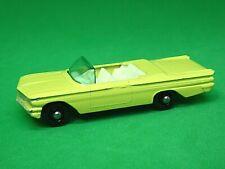Matchbox Lesney No.39b Pontiac Bonneville Convertible (BLACK BASEPLATE)