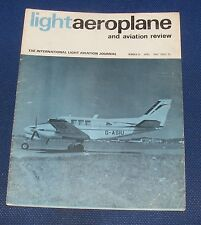 LIGHTAEROPLANE AND AVIATION REVIEW MAGAZINE APRIL 1967 - AMELIA EARHART
